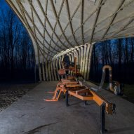 Sawmill Shelter by Architectural Association students, Design + Make programme