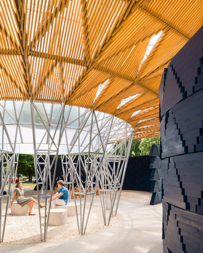 Serpentine Pavilion by Jim Stephenson
