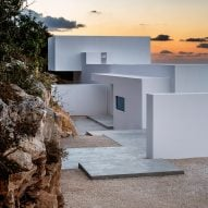 10 idyllic Greek island retreats from Dezeen's Pinterest boards