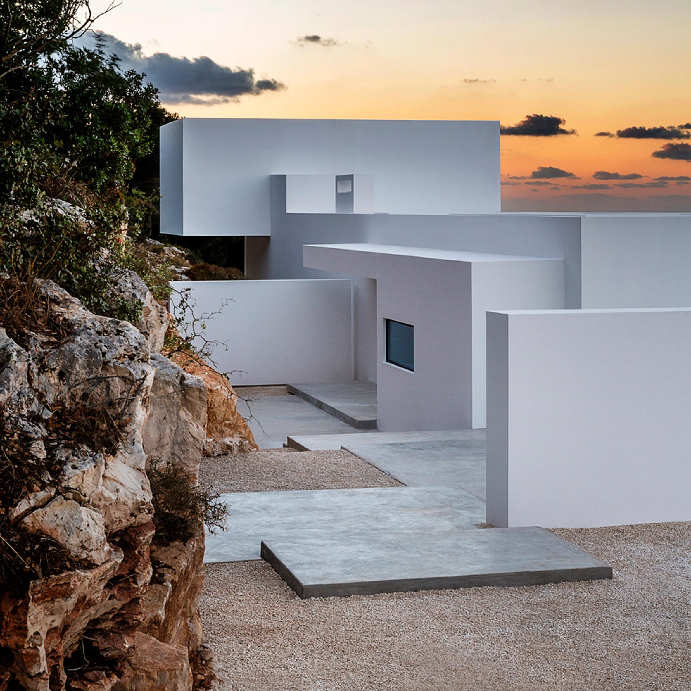 10 idyllic Greek island retreats from Dezeen's Pinterest boards