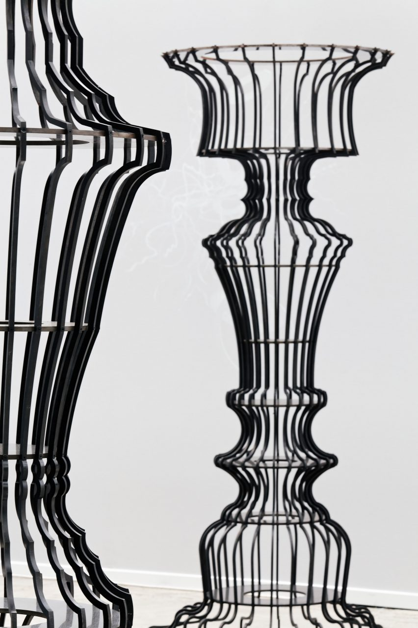 Surprising Sou Fujimoto Creates Ornate Bookshelves For Basel Installation Pabps2019 Chair Design Images Pabps2019Com