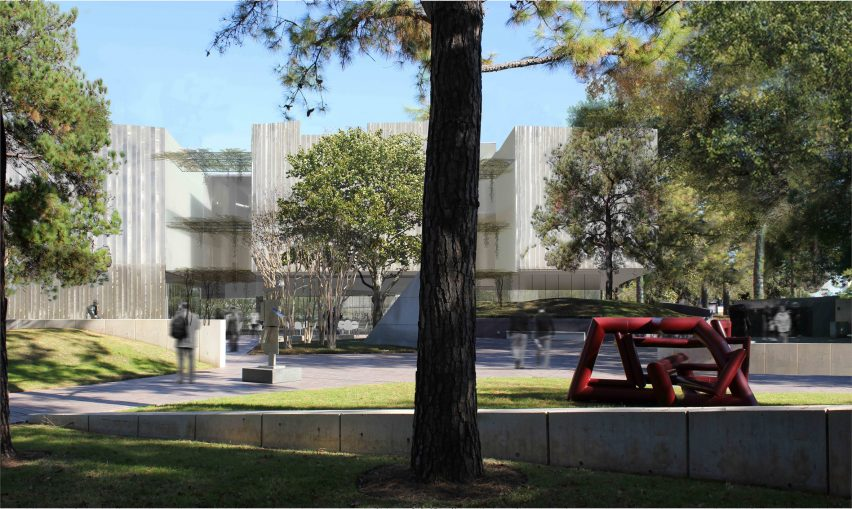 Museum of Fine Art, Houston by Steven Holl