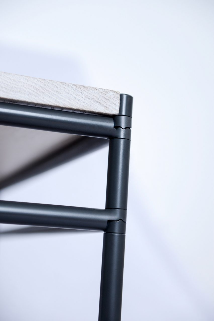 Strata furniture by Katrine Hesseldahl & Victor Strimfors