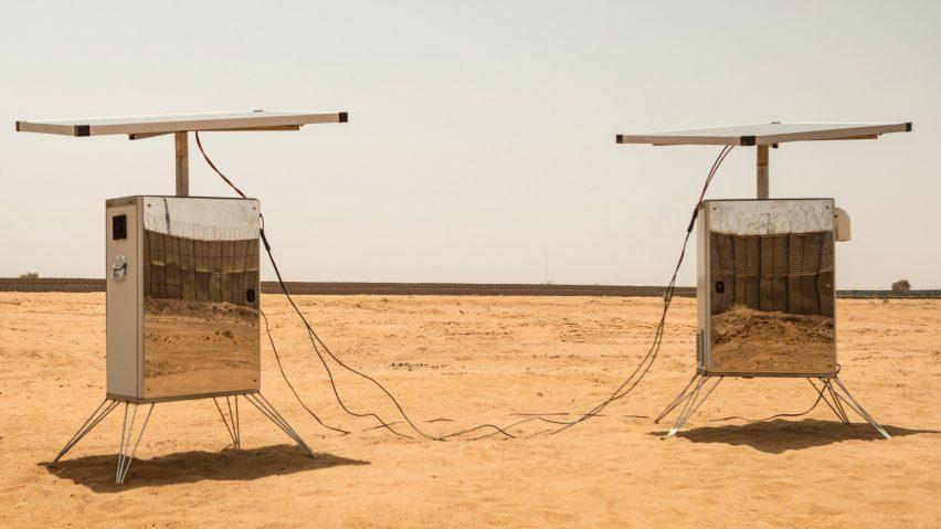 Sunglacier harnesses solar power to harvest water in the Sahara Desert