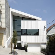 Edmonds + Lee creates white Switchback House for sloped street in San Francisco