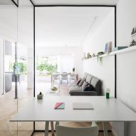 Amir Navon and Maayan Zusman employ space-saving tricks for tight Tel Aviv apartment