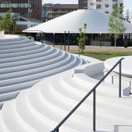 Tenri Station plaza CoFuFun by Nendo
