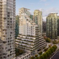 "Shigeru Ban reveals new details of ""world's tallest hybrid timber structure"" for Vancouver"