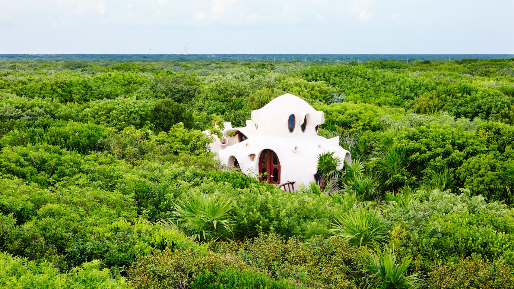 Дом на дереве от Papaya Playa в Мексике
