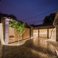 Twisting Courtyard by Arch Studio