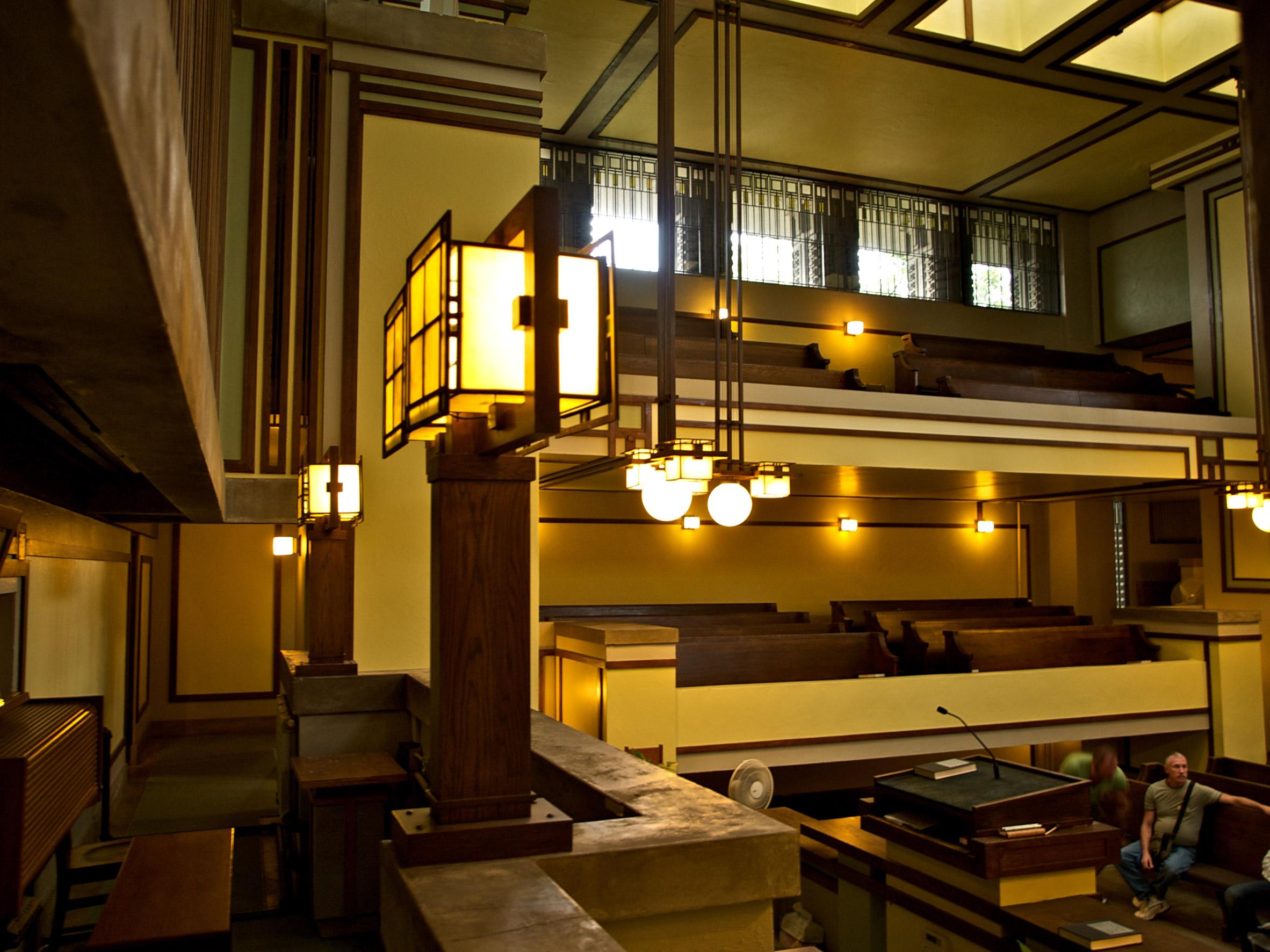 Unity Temple by Frank Lloyd Wright