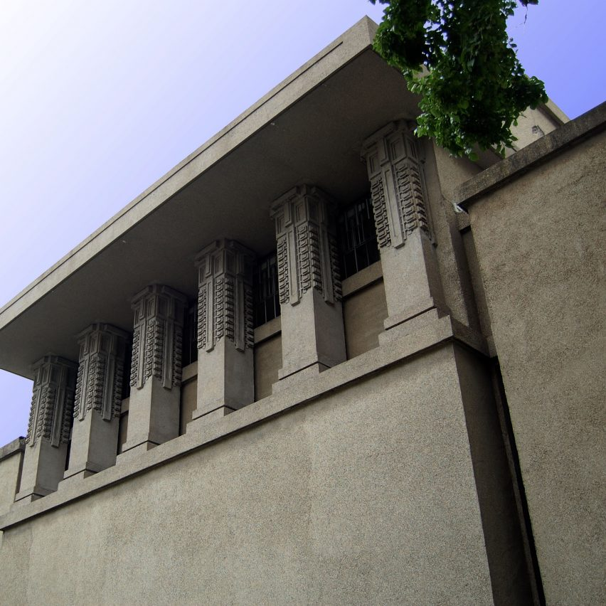 Unity Temple by Frank Lloyd Wright