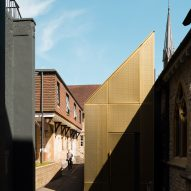 University of Winchester Chapel by Design Engine Architects