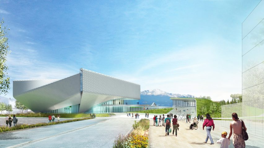US Olympic Museum by Diller, Scofido + Renfro