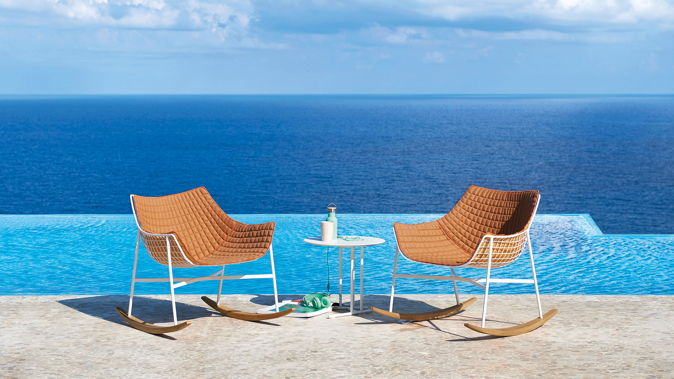 Summerset Patio Furniture.Varaschin Adds Outdoor Rocking Chair To Summerset Collection