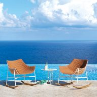 Varaschin adds outdoor rocking chair to Summerset collection
