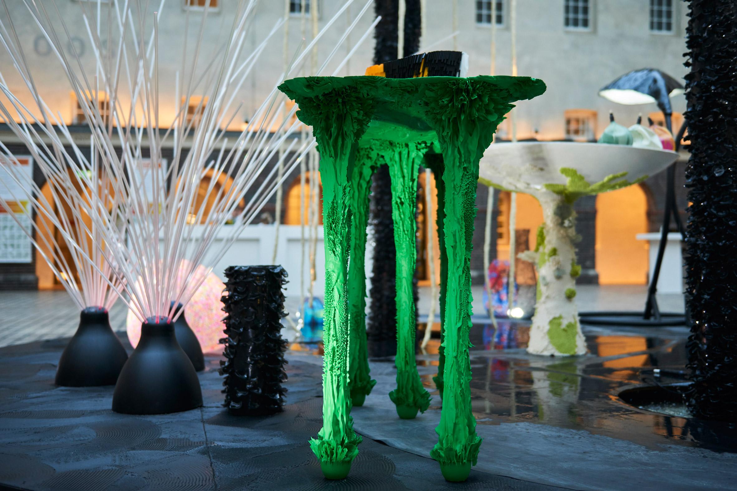 Water Bench Tropic City project by Jolan van der Wiel