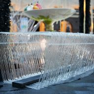 Water Bench Tropic City project by Jolan van der Wiel