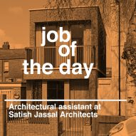 Job of the day: architectural assistant at Satish Jassal Architects