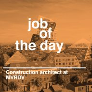 Job of the day: construction architect at MVRDV