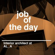 Job of the day: interior architect at AL_A