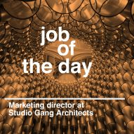 Job of the day: marketing director at Studio Gang Architects