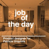 Job of the day: product designer for Patricia Urquiola