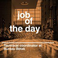 Job of the day: technical coordinator at Bureau Betak