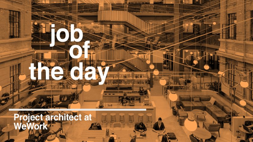 Job Of The Day Project Architect At Wework In Tokyo