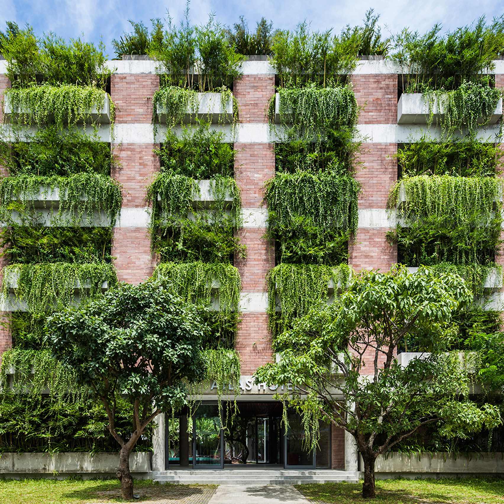 Atlas Hotel Hoi An, Hoi An, Vietnam, by Vo Trong Nghia Architects