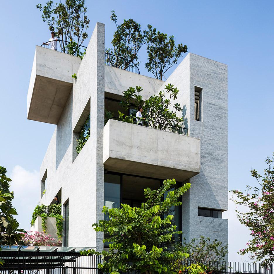 Binh House, Ho Chi Minh City, Vietnam, by Vo Trong Nghia Architects
