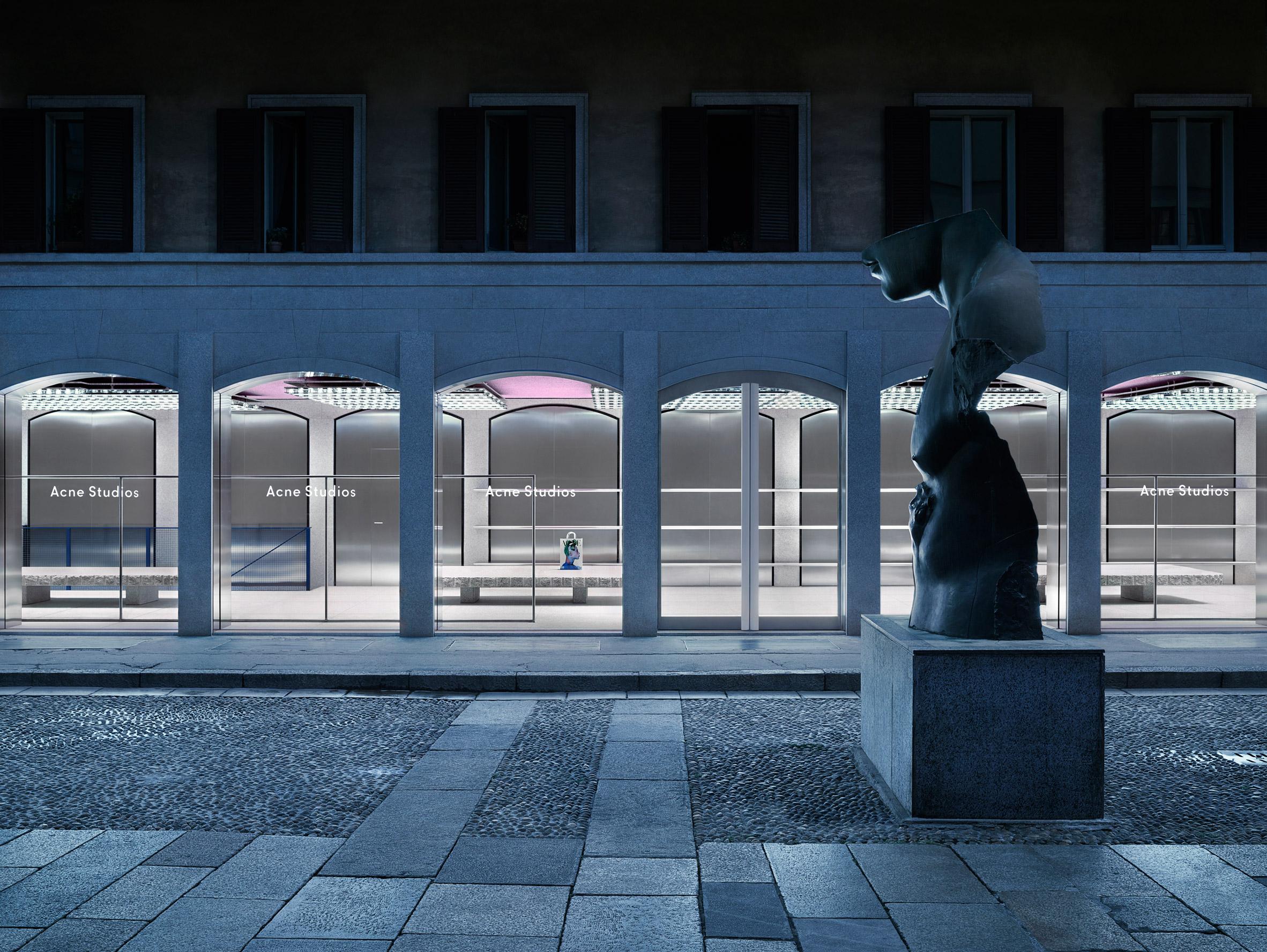 Acne Studios opens flagship in Brera district of Milan