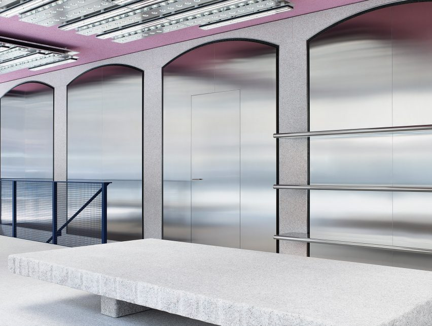 Acne Studios opens pink-ceilinged flagship store in Milan s Brera ... 40a5bf5b3d2