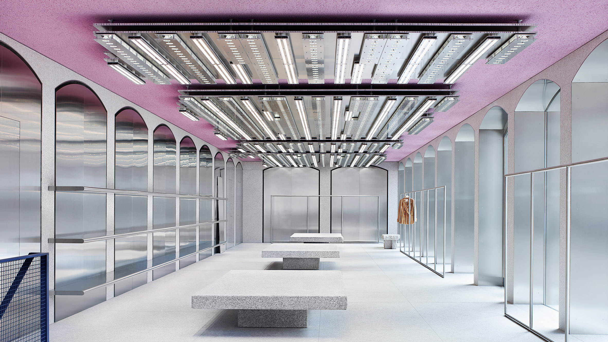 Acne Studios Opens Pink Ceilinged Flagship Store In Milans Brera District