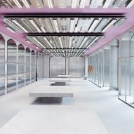 Acne Studios opens pink-ceilinged flagship store in Milan's Brera district