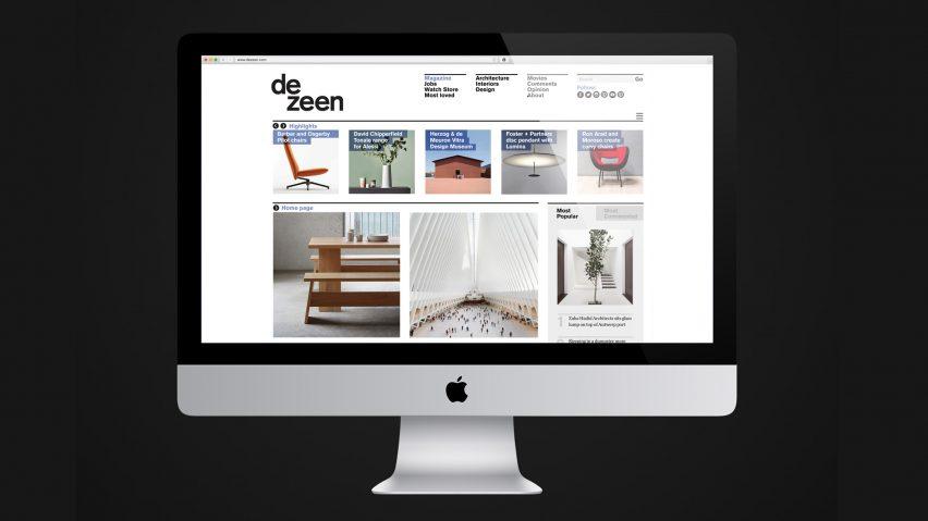 Dezeen is one of the world's 5,000 most popular websites