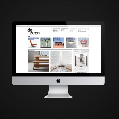 Dezeen is one of the world's 5,000 most popular websites