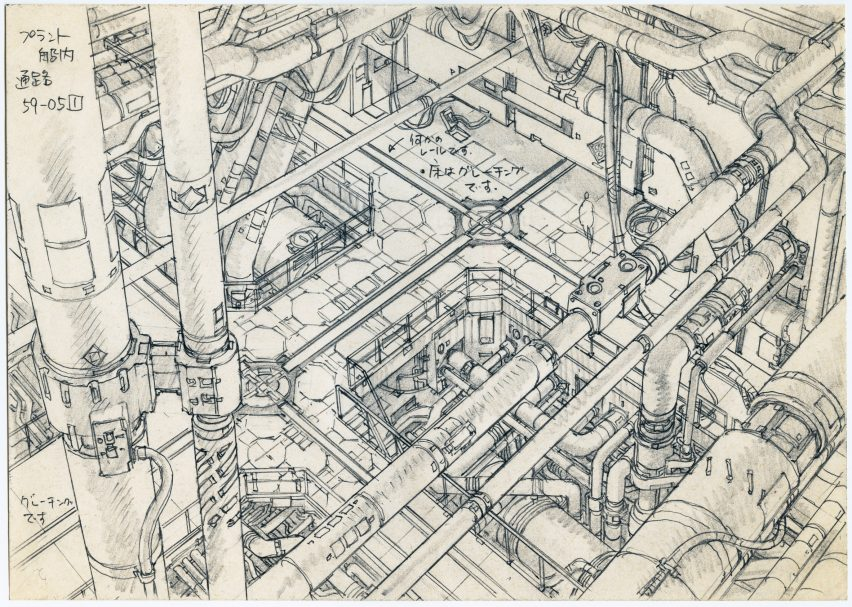 Architecture anime architecture exhibition shows fictional worlds of japan's