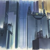 Anime Architecture exhibition showcases the fictional worlds created for Japan's animated movies