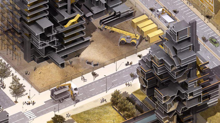 Superior Bartlett Graduate Julia Baltsavia Designs Construction System For Modular  Housing Based On I Beams