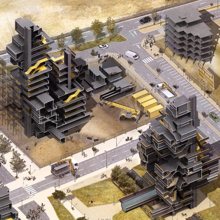 I-Architecture, by Bartlett graduate Tzoulia Baltsavia