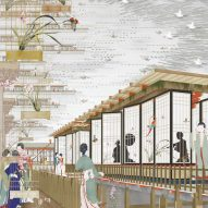 "Bartlett student Freja Bao designs pilgrimage destination ""to rebrand China"""