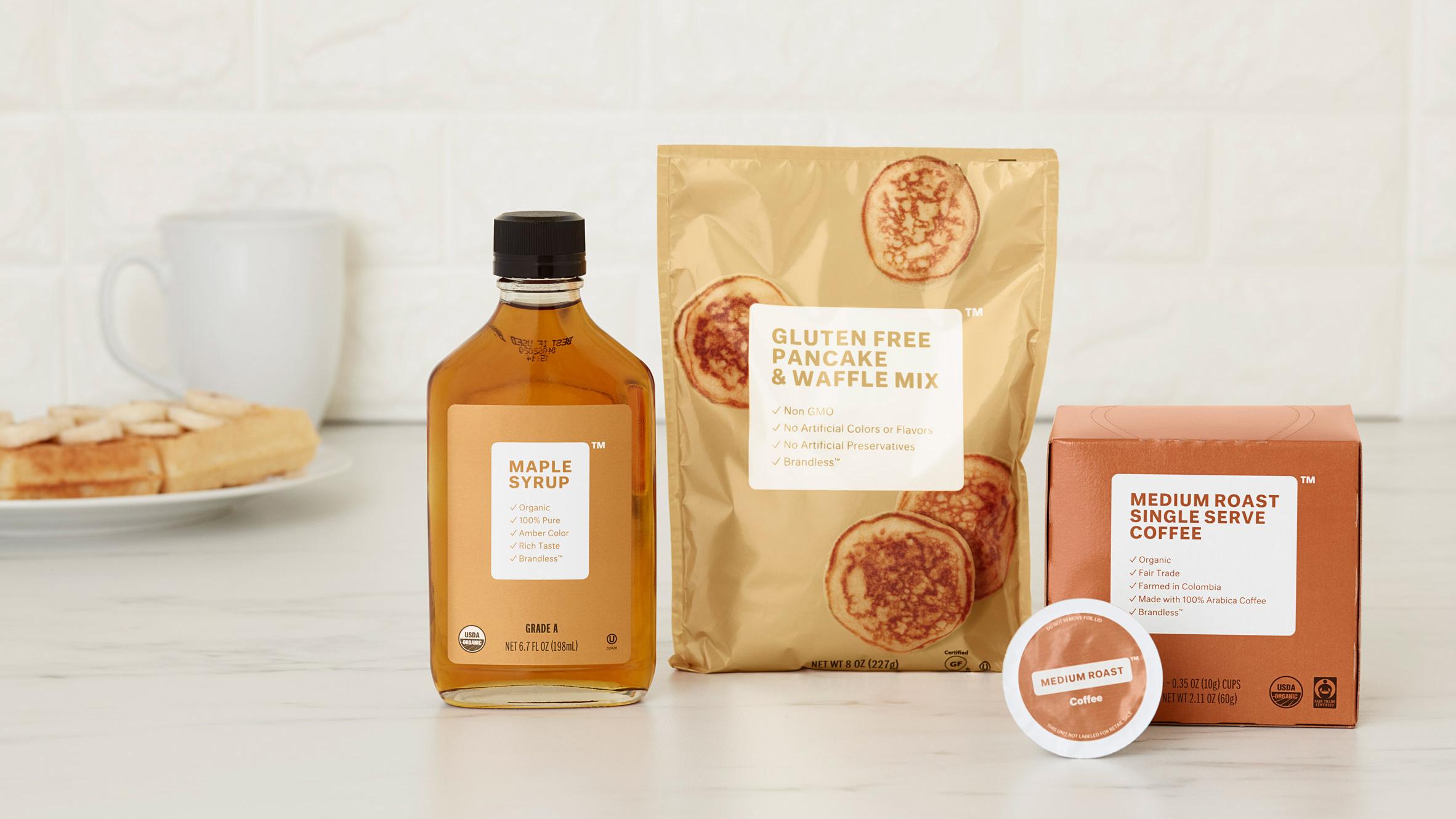 Brandless packaging