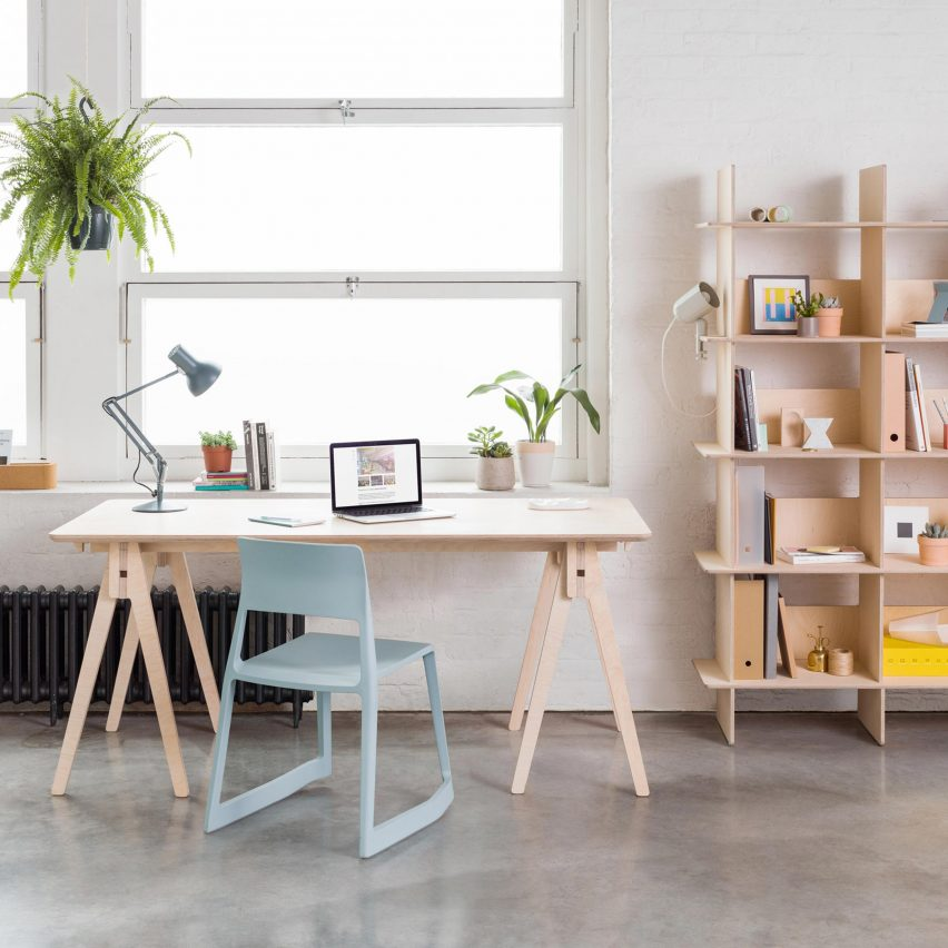 Opendesk launches shelf and desk that can both be for Wedding table design tool