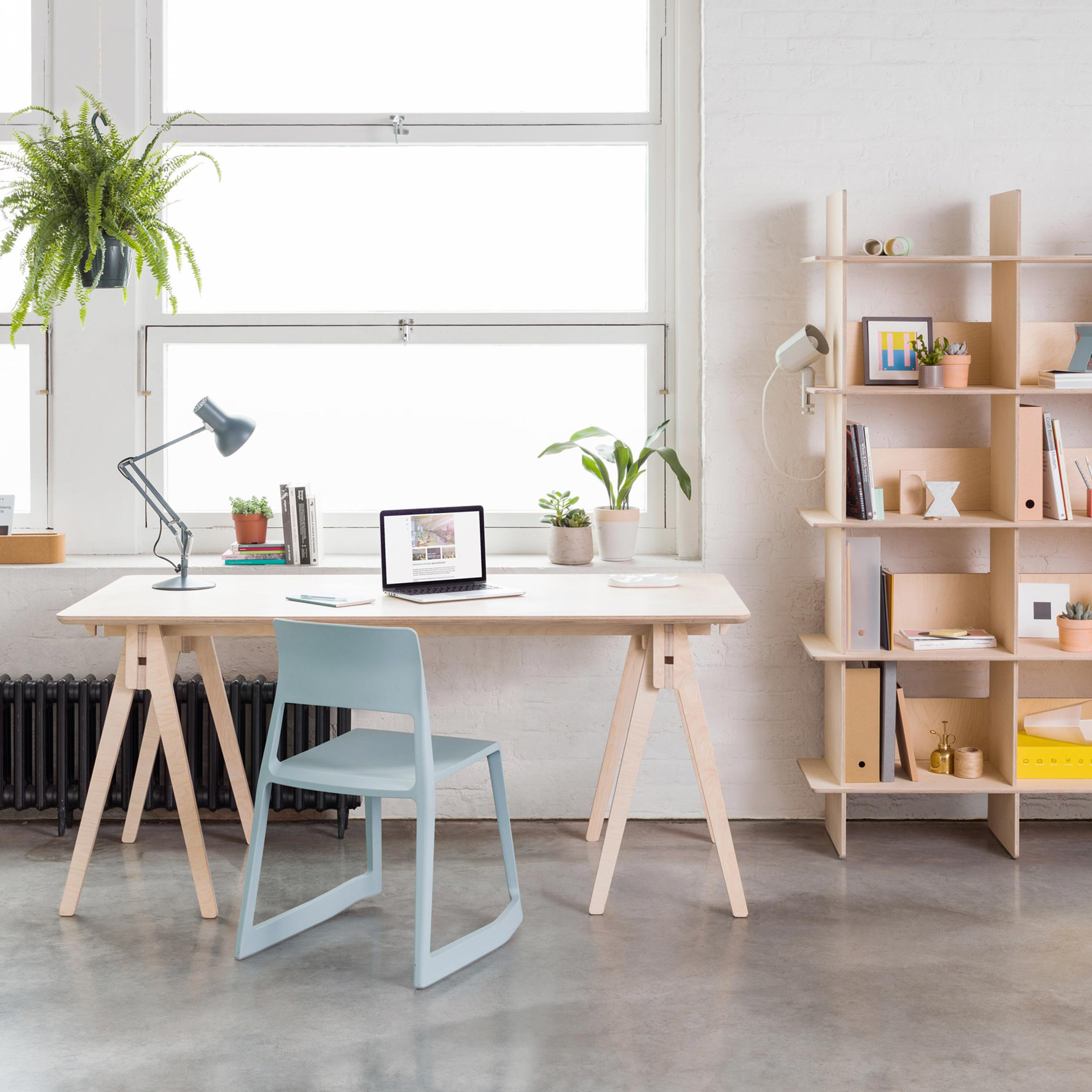 Opendesk Launches Shelf And Desk That Can Both Be Assembled Tool Free
