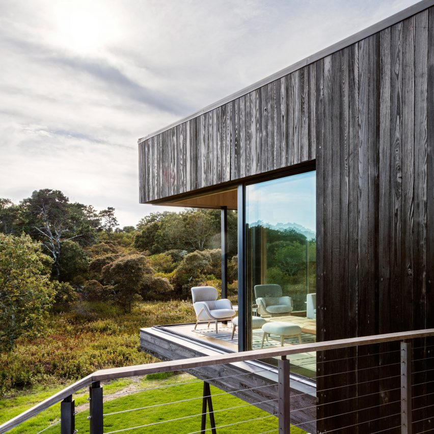 The Chilmark House by Gray Organschi Architecture and Schiller Projects