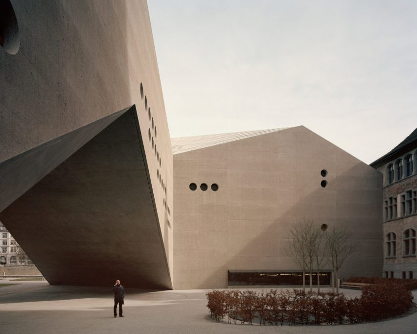 Rory Gardiner photographs Christ & Gantenbein's museum extension
