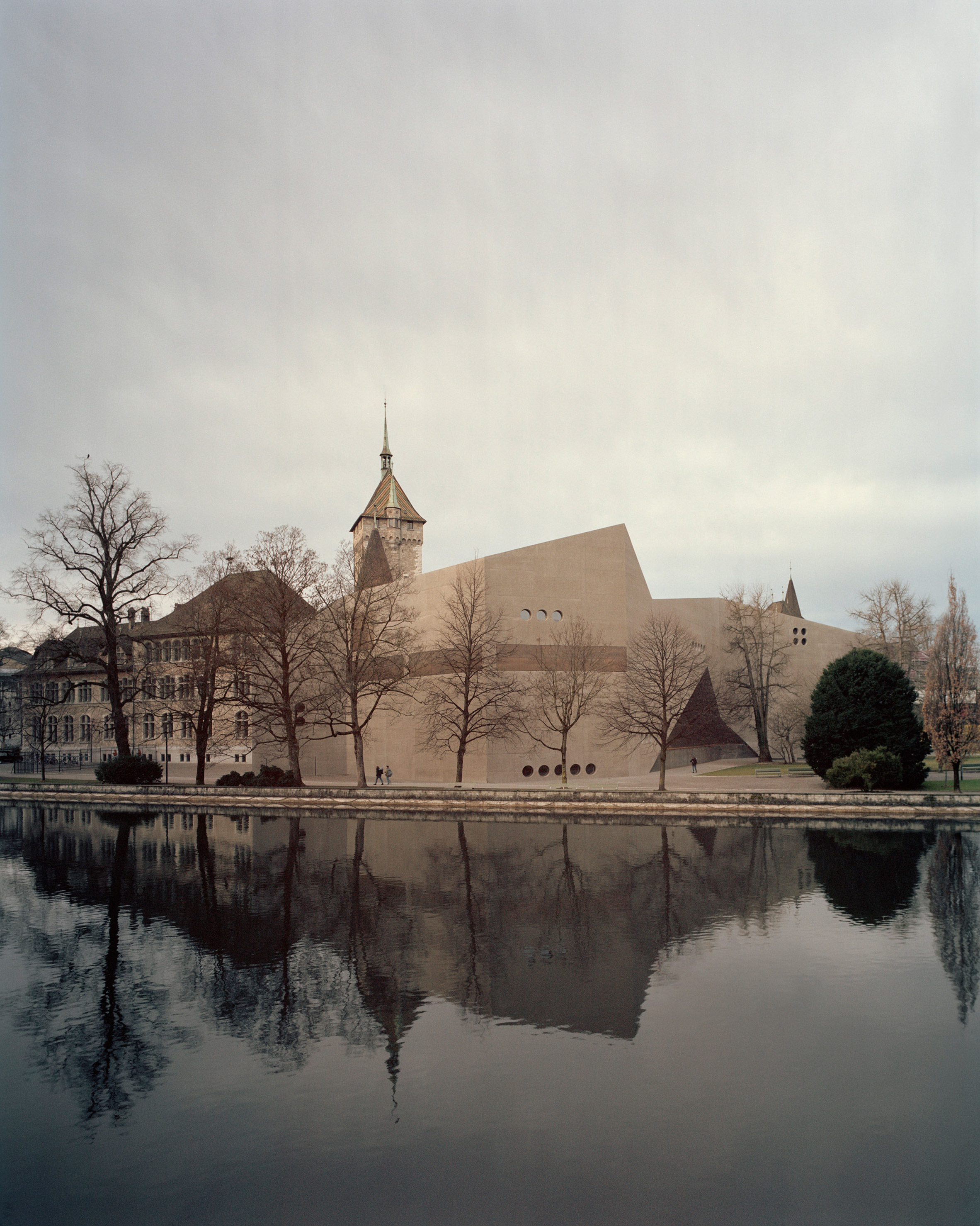 Christ & Gantenbein's concrete extension to National Museum Zurich photographed by Rory Gardiner