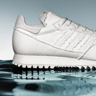 Daniel Arsham bases all-white Adidas trainers on archaeological artefacts