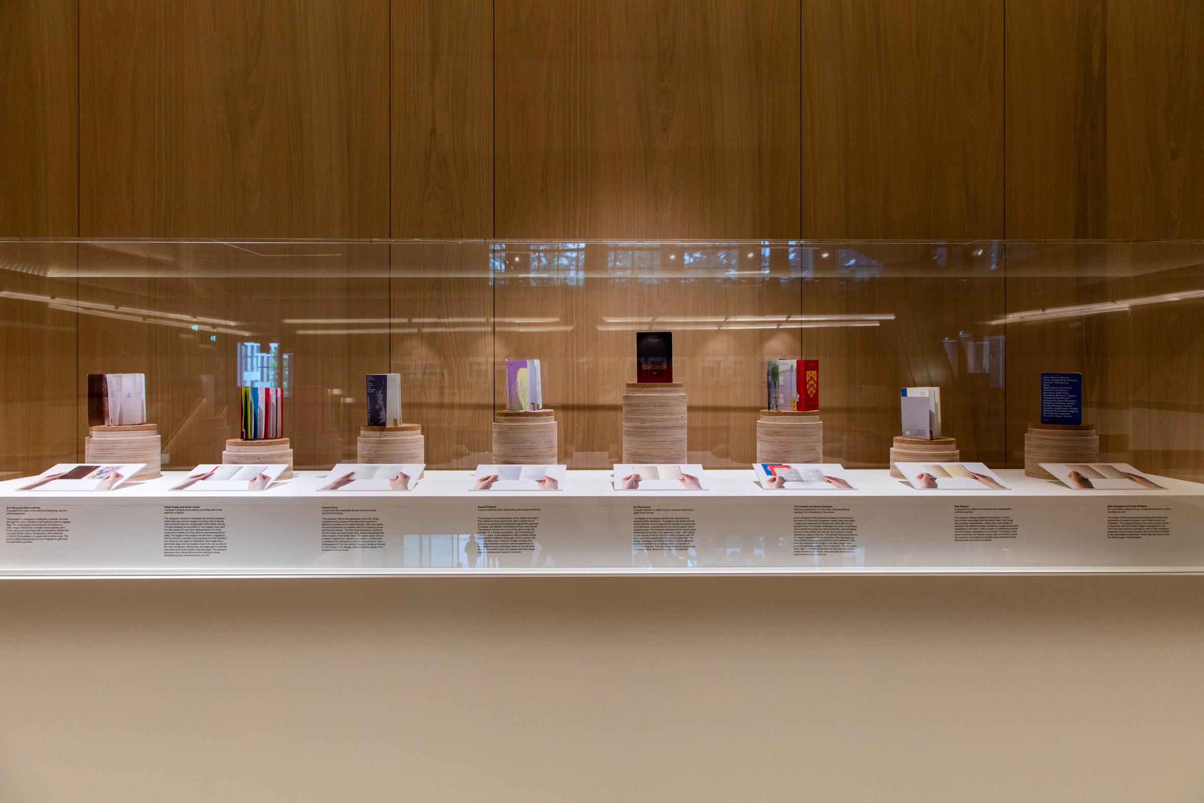 Exhibition Stand Design Competition : Design museum exhibits dezeen s brexit passport